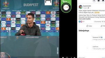 Heboh Singkirkan Botol Soda Sponsor Euro 2020